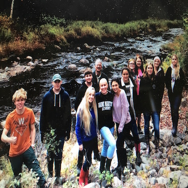 Our amazing Coastal Ecology students instructed by Mr. Sprangers released 36,000 salmon par on Wednesday, October 17.